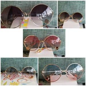 Round sunglasses Men Women vintage  Round Sunglass